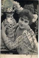 Mme Paulette FILLIAN- Carte Précurseur Avant 1904 - Femmes Célèbres