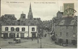 GUINGAMP, QUARTIER DU VALLY, RUE NOTRE-DAME. PRECURSEUR. , SCAN R/V - Guingamp