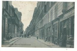 Paris XIII Arrondissement, La Rue De Vanvandrezanne Plan Animé, Cpa , écrite En 1912, édition Marmuse - Arrondissement: 13