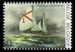 Belgium**ZENOBIE GRAMME-SAILSHIP-William VANCE-Voilier-Segler-Shipbuilding-2013-MNH - Belgium