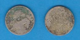 PORTUGAL  50  CENTAVOS  1.928  CU NI  KM#577   BC/F    DL-10.653 - Portugal