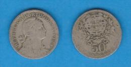 PORTUGAL  50  CENTAVOS  1.929  CU NI  KM#577   BC/MBC  F/VF    DL-10.654 - Portugal