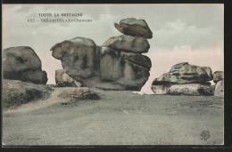 CPA Tregastel, Le Chameau, Formation Rocheuse - Cartes Postales