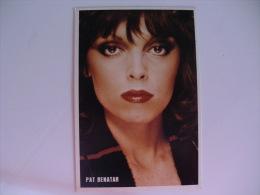 Pat Benatar The Top Disco Stars Portugal Portuguese Pocket Calendar 1985/1986 - Calendriers