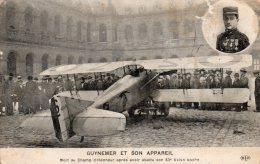 - CPA - GUYNEMER Et Son Appareil - Coins Arrondis - 853 - 1914-1918: 1. Weltkrieg