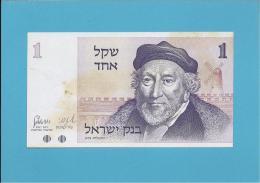 ISRAEL - 1 SHEQEL -  1978 - P 43 - Israel