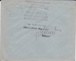 1917 D. Reich. Besetzung BELGIEN.  EF.  Brugges/Brüssel. ZENSUR. MK - Deutschland