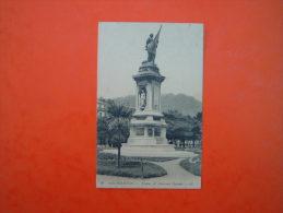 CPA   SAN SEBASTIAN  - Estatua Del Almirante Oquendo - Espana - - Spain