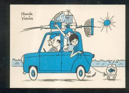 6307 - CPSM Illustrateur Claude VERRIER : Série Ames Vaillantes PARIS 6 Ième - Illustratori & Fotografie