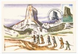 FRANCE - Carte Maximum - Mont Aiguille - Clelles En Trieves - 1992 - Maximum Cards
