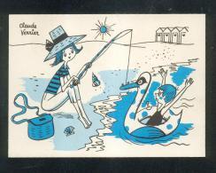 6308 - CPSM Illustrateur Claude VERRIER : Série Ames Vaillantes PARIS 6 Ième - Unclassified