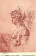 CPA Michel-Ange (Florence) Portrait De Vittoria Colonna - Peintures & Tableaux