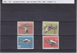 Sports - Athlétisme - Javelot - Saut En Hauteur - Haies - Sprint - Liechtenstein - Yvert 304 / 07 ** - MNH - Valeur 30 € - Liechtenstein
