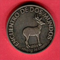 URUGUAY CERF DES CHAMPS 1994 200 PESOS    TTB/SUP 65 - Uruguay