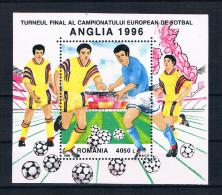 Rumänien 1996 Fußball Block 300 ** - 1948-.... Républiques