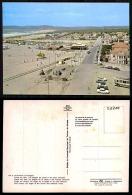 PORTUGAL COR 28209 - ALMADA - COSTA DA CAPARICA - PRAIA - OLD CARS AUTOMOBILES VOITURES BUS AUTOCARRO OPEL - Setúbal