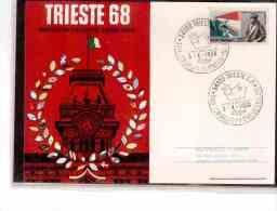 TEM2779    -   TRIESTE  3.10.1968   /    XXIX CONGRESSO FILATELICO ITALIANO - Esposizioni Filateliche