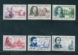 France Timbres Neufs** De 1960  Célébrités  N°1257 A 1262 - France