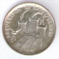 SAN MARINO 500 LIRE 1976 AG SILVER - San Marino