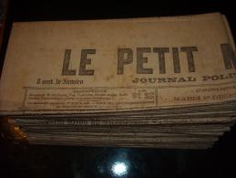 LE PETIT MARSEILLAIS-mois De Décembre 1914-lot De 25 Numéros Originaux - Journaux - Quotidiens
