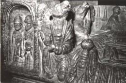 Brescia - Cartolina SARCOFAGO DI BERARDO MAGGI (particolare) Duomo Vecchio - PERFETTA C66 - Sculptures