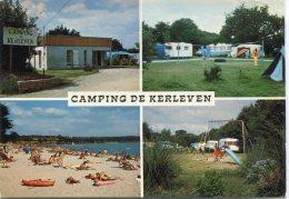 CPSM 29  CAMPING DE KERLEVEN 1975  Grand Format 15 X 10,5 - Francia