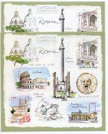 BLOC CAPITALES EUROPEENNES : ROME - Varieteiten: 2000-09 Postfris