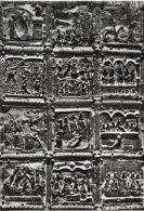 Verona - Cartolina PORTALE IN BRONZO (particolare), BASILICA DI SAN ZENO (sec XI-XII) - PERFETTA C66 - Sculture