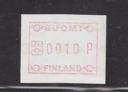 ATM: 1988 Finland Mi.3.2 - Mint/**  (M2-25) - ATM - Frama (labels)
