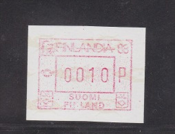 ATM: 1988 Finland Mi.4.2 - Mint/**  (M2-25) - ATM - Frama (labels)