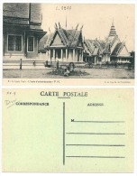 Indochine Cambodge Phnom-Penh École D'Administration C'est Une CPA! TB (+300 CPA Sur L´Indochine En Cours) - Cambodge