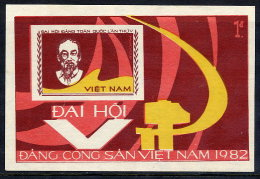 VIETNAM  1982 5th Vietnamese Communist Party Congress Block MNH / (*).  Sc. 1171 - Vietnam