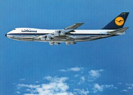 - CPSM  - LUFTHANSA - Boeing 747 , Vol Frankfort, Nairobi 1977 - 887 - 1946-....: Moderne