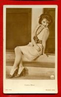 "CLARA BOW 4480/1 PUBLISHER GERMANY ""ROSS"" VINTAGE PHOTO POSTCARD W1015 - Schauspieler"