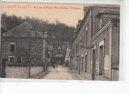 GRAND ANDELY - Rue De La Poste - Manufacture D'orgues - Très Bon état - Autres Communes