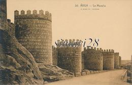 AVILA - N° 30 - LA MURALLA - (C P DE CARNET) - Ávila