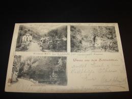 GRUSS AUS DEM SCHLÜCHTTHAL WITZNAUER MÜHLE WALDSHUT 1899 Nach GÖPPINGEN - Waldshut-Tiengen