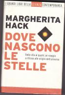 DOVE NASCONO LE STELLE - DI MARGHERITA HACK - MONDADORI EDITORE - NUOVO - Matematica E Fisica