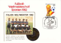 FUSSBALL-FOOTBALL-SOCCER- CALCIO, Spain, 1982, Special Cancellation !! - 1982 – Espagne
