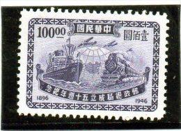 1946 Cina - Trasporti - Cina