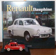 Renault Dauphine - Edition Atlas - miniature avec livre