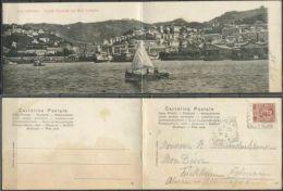 1906 GENOVA - Cartolina Doppia Stampata Nel 1903 MOLO LUCEDIO - Genova (Genoa)