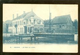 Iseghem (Izegem)  :  Le Pont Du Canal  -  Bertels N°18 - Izegem
