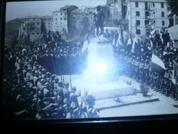 OLEVANO ROMANO Cartolina Fotografica Usata 03.1.1922 Cerimonia Monumento Caduti - Italia