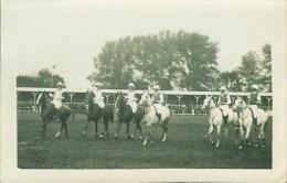 Sport  Carte Photo De Joueurs De Polo  (2) - Horse Show