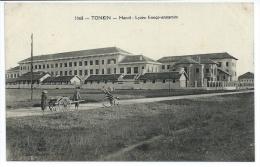 Indochine Tonkin Hanoi  Lycée Franco-Annamite (+300 CPA Sur L´Indochine En Cours) - Viêt-Nam