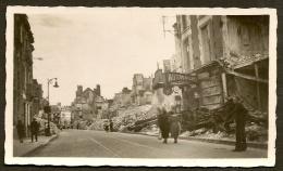 ORLEANS Bombardé Rare Militaria WW2 Rue Bannier Loiret (45) - Photos