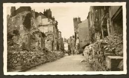 ORLEANS Bombardé  Militaria WW2 Rue Du Cheval Rouge Loiret (45) - Photos