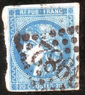 Emission De Bordeaux. 1870 - 1871. Lot N°011- 36 E - 1870 Bordeaux Printing