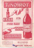 Buvard Extrait Végétaux T. Noirot Ceci Pour Faire Cela Offert Par Le Comptoir Français Des Années 1950 - Schnaps & Bier